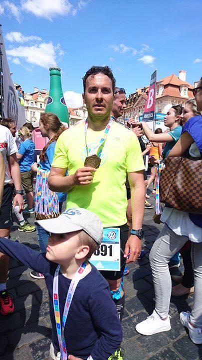 Poslední část výzvy - pražský maraton