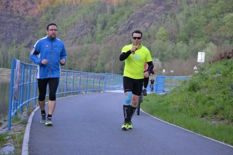 Trať 42km vedla z Úhlavské přes Kunratický les do Vraného nad Vltavou