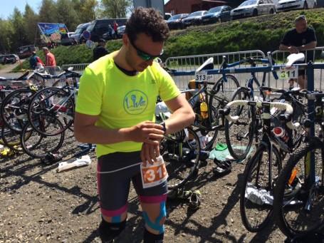 Závody Krušnoman - Tomáš se ze zdravotních důvodů rozhodl pro short trasu